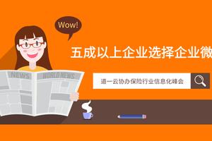 道一云协办保险行业信息化峰会