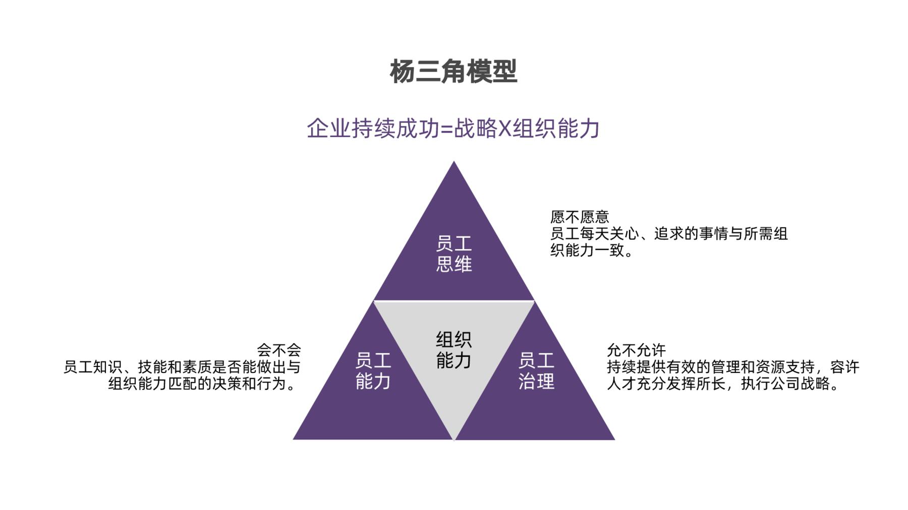 杨三角模型
